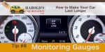 monitor your car gauges