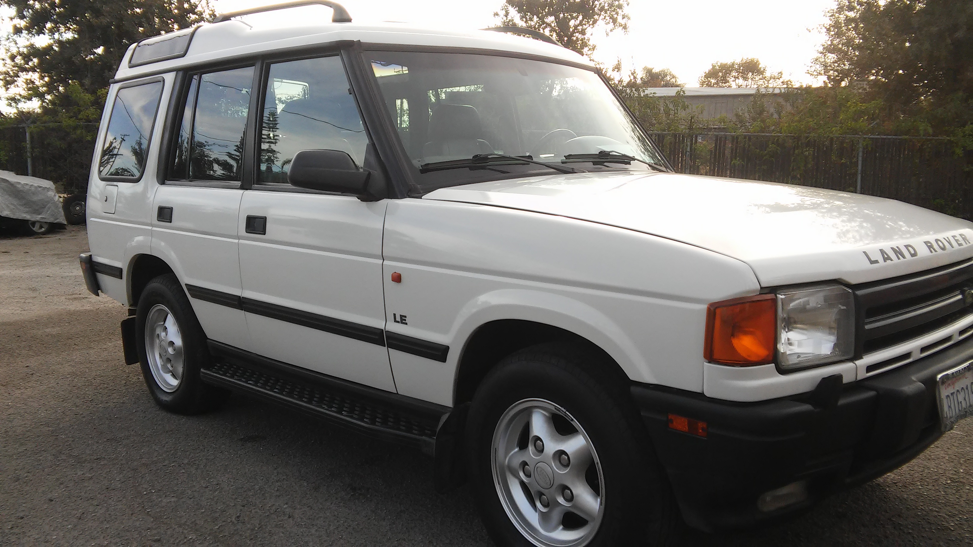 1998 landrover discovery recently donated