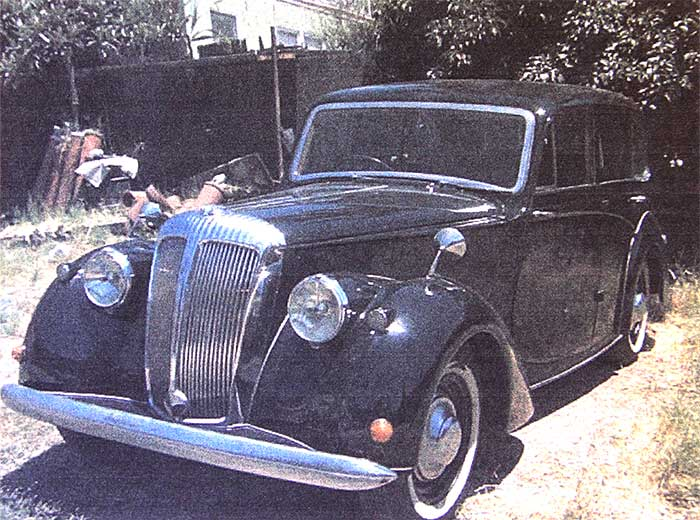 Donated 1952 Daimler classic car