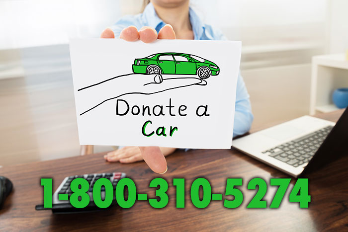 donate car sign
